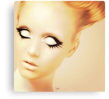 Vintage Barbie Canvas Print