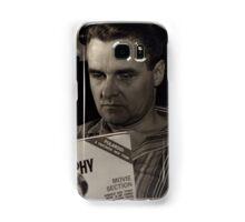 1950s Man Reading Magazine Samsung Galaxy Case/Skin
