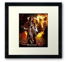 Pirates Poster Framed Print