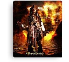 Pirates Poster Canvas Print