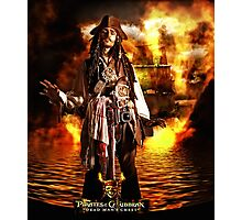Pirates Poster Photographic Print