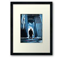 Inception Poster Framed Print