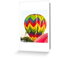 Hot Air Balloon 1 Greeting Card