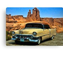 1954 Cadillac Coupe deVille Canvas Print