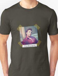 Ed Westwick retro Unisex T-Shirt