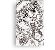 Googly eyes Canvas Print