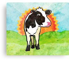 Dairy Cow Canvas Print