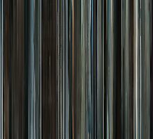 Moviebarcode: The Girl with the Dragon Tattoo (2009) by moviebarcode