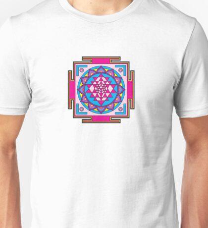 Sri Yantra Mandala Unisex T-Shirt