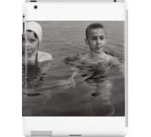 Kids Swimming iPad Case/Skin