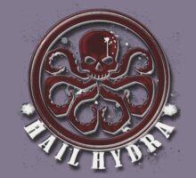 Hydra on black Kids Tee