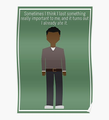 """Troy Barnes: """"Lost Something"""" Poster"""