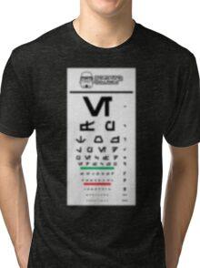 Stormtrooper Eye Exam Tri-blend T-Shirt
