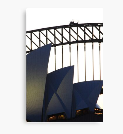 Two icons Canvas Print