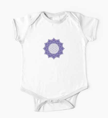 Flower Of Life One Piece - Short Sleeve