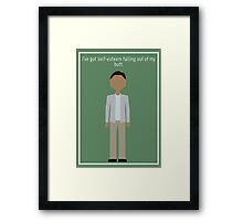 "Abed Nadir: ""Self-Esteem"" Framed Print"