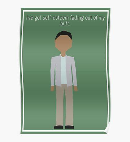 "Abed Nadir: ""Self-Esteem"" Poster"