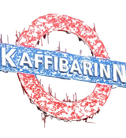 Kaffibarinn Sticker