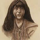 Mohave Girl (Circa 1903) by MrDavid