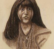 Mohave Girl (Circa 1903) by MrDavid