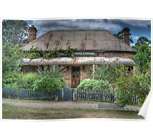 The Old Bakery Cottage, Berrima, NSW Poster