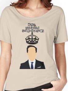 Moriarty,You should see me in a crown Women's Relaxed Fit T-Shirt