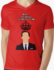 Moriarty,You should see me in a crown Mens V-Neck T-Shirt
