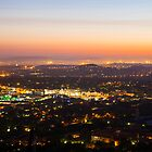 Pretoria at night #2 by Rudi Venter
