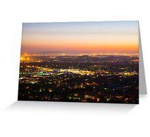 Pretoria at night #2 Greeting Card