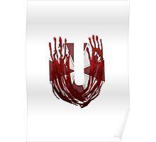Geek letter U Poster