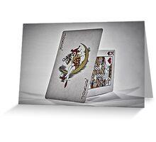 Joker & King Greeting Card