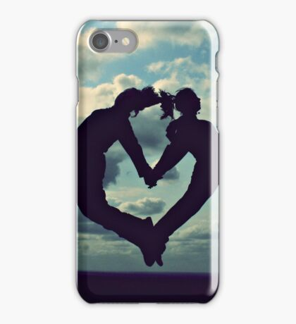 Hearts in the Sky iPhone Case/Skin