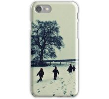 England covered in snow iPhone Case/Skin