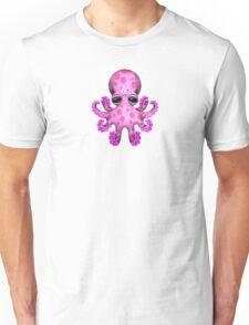 Cute Pink Baby Octopus Unisex T-Shirt