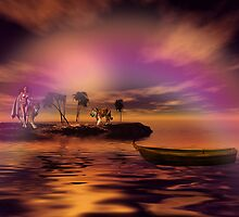 Secluded in Happiness by Pamela Phelps