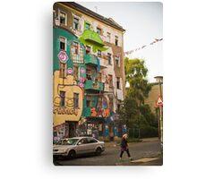 berlin squat Canvas Print