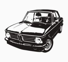 1973 BMW 2002 tii - Black & White by OldDawg