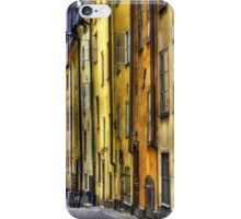 Old Town facades. iPhone Case/Skin