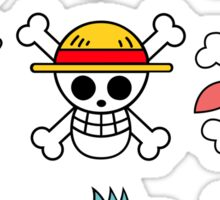 Mugiwara Flags Sticker