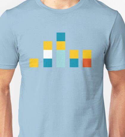 Minimal Simpsons Unisex T-Shirt