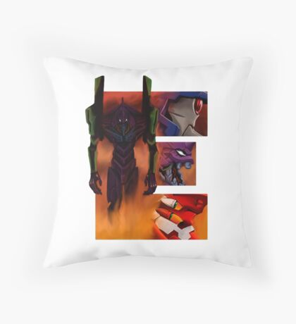 Geek letter E Throw Pillow