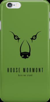 House Mormont Minimalist iPhone Case by liquidsouldes