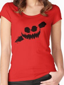 Knife Party; Haunted House Women's Fitted Scoop T-Shirt