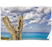 Peaceful Seas Poster