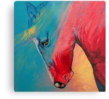 Painted Horse Metal Print