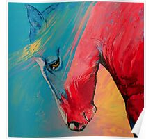Painted Horse Poster