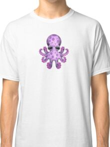 Cute Purple Baby Octopus Classic T-Shirt
