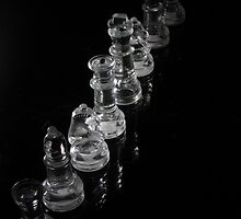 Glass Chess Pieces by interact