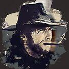 Clint Eastwood by Jamal Nasir