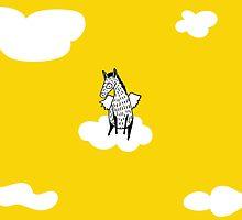 Flying Pony by Amanda Jones by ucodesign